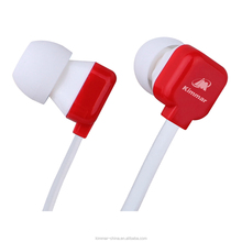 Original Unique In-ear Plastic Printing Shape Funny Earbud For Mobile Phone