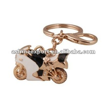 2012 fashion Alloy Motocycle key chain/lovely motocycle keychain/motocycle key holder