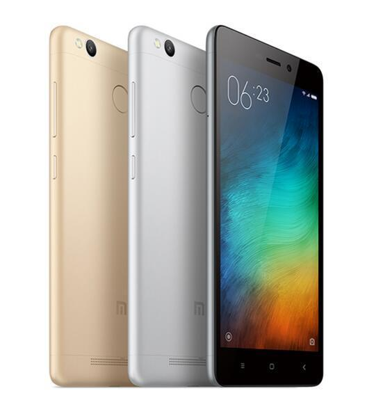 4G Lte Xiaomi Redmi Red Mi 3S Pro Unlocked 3GB RAM 32GB ROM Android 6.0 Octa Core 5.0 inch 13MP Mobile Phone