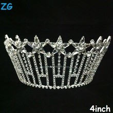 Gorgeous diamond star tiara, beauty pageant crown, crystal wedding headpiece
