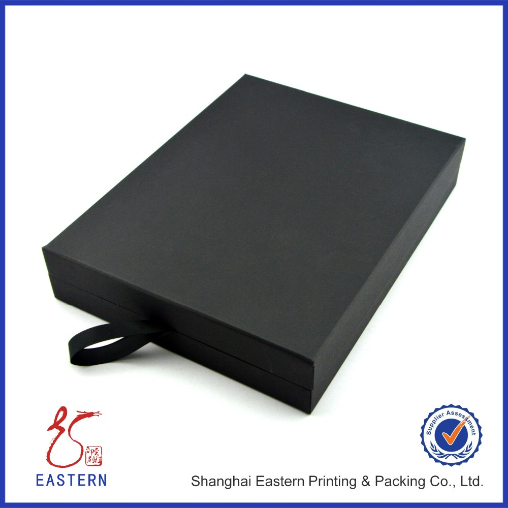 Flat Cover Cosmetic Paper Packing Box