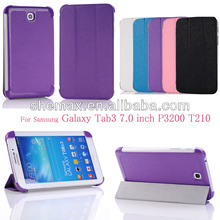 Tablet Leather Bag For Samsung Galaxy Tab3 7.0 P3200 T210