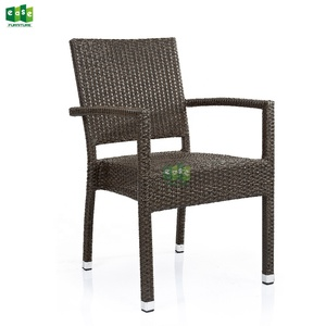 Hot selling stackable outdoor garden wicker rattan chair (E1057)