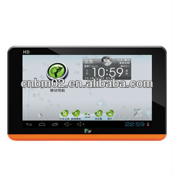 G7S Portable Car GPS Tablet PC 7 inch built-in 8G android 4.0 support rear camera