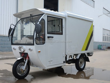 closed cabin express Electric cargo tricycle Motorcycle/ for business delivery