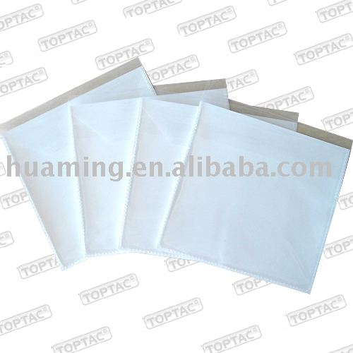 Adhesive CD/DVD Sleeves
