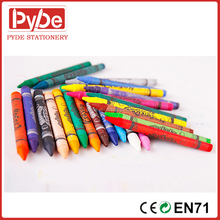 Wax Crayon in normal size for kids 12 24 36 48 colors kids gift in bulk or gift packing