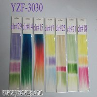 colorful clip in hair for party, cosplay,Halloween,fashion show