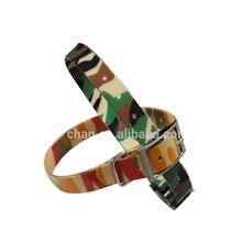 Camouflage Color Tpu Webbing Dog Collar For Hunting