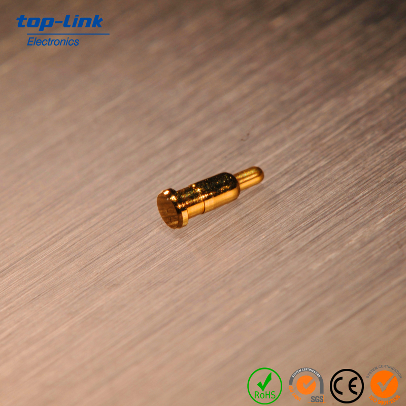 recyclable electric pogo pin connector for battery