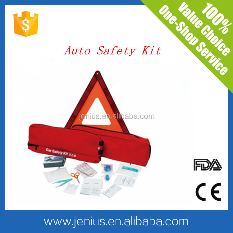 Emergency High Quality Roadside First aid kit for car withFDA&CE