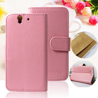 Flip Leather for Sony Xperia Z L36H Covers Wallet Case