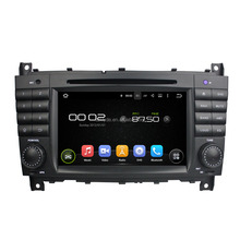 Support original car rear camera and amplifier and USB android 5.1.1 car stereo system for C-Class W203/CLC G Class W467