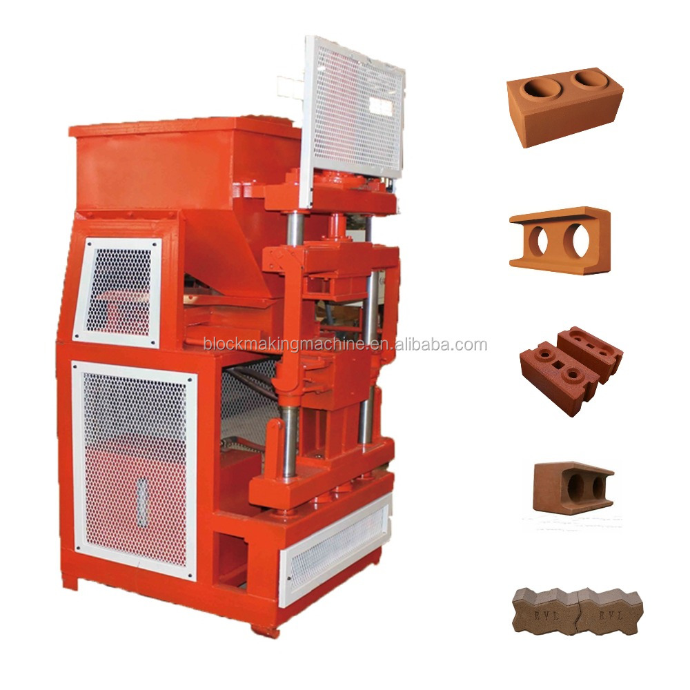 HR2-10 multi-function hydraulic automatic brick making machine, lego interlocking brick machine price