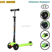 2016 new patented product maxi scooter 120/80mm kids kick 3 wheel scooter