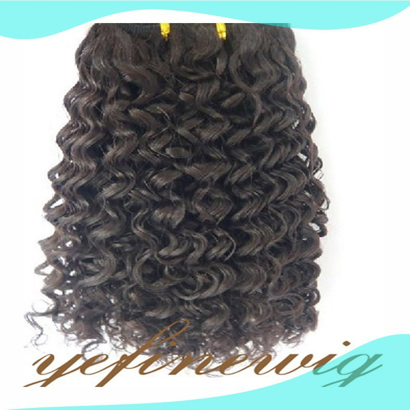 Factory Price Human Hair Virgin Brazilian Jerry Curl Hair Weave