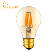 ES UL led filament bulb E26 edison bulb b22 e27 a19 led light bulb 4w 6w 8w