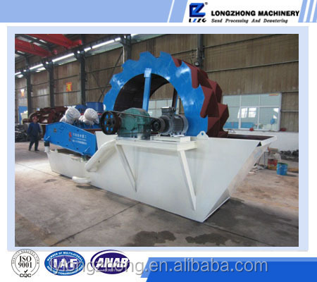Sand washing line used small washing machine for the sand dewatering with high quality in 2016