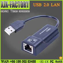 factory Outlet High speed wired usb 2.0 lan adapter lan to usb converter in network cards