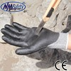 NMSAFETY 13 gauge cut resistant hand gloves black pu cut gloves level 5 cut resistant gloves