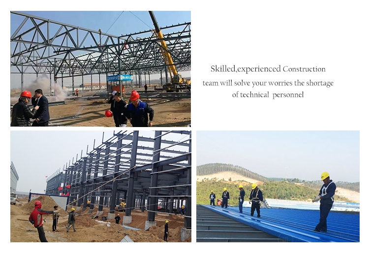 Q345 Cheap Steel Structure Shed Industrial Warehouse