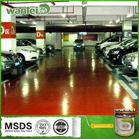 Washable and corrosion resistance floor tile paint