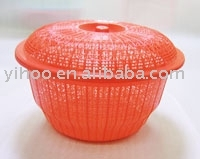 PP Round Shape Big Size Plastic Fruit Basket