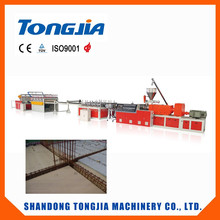 wpc construction template production line