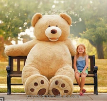 3.4m giant sitting big head teddy bear stuffed toy/big bead teddy bear plush toy 3m/big teddy bear plush