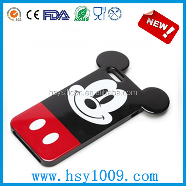 TPU Case for apple ip series in disney mickey mouse