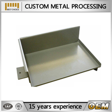 customize precision fabricated hairline stainless for stencil