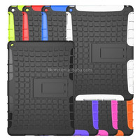 pc tpu hybrid case for ipad 6 air 2 with kickstand