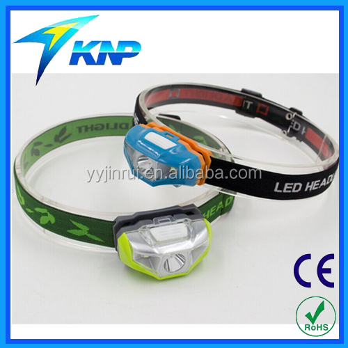 LED Headlamp 100 lumens, 1 AA Battery, Top Rated Running Headlamp SOS Light Modes Arm Lamp