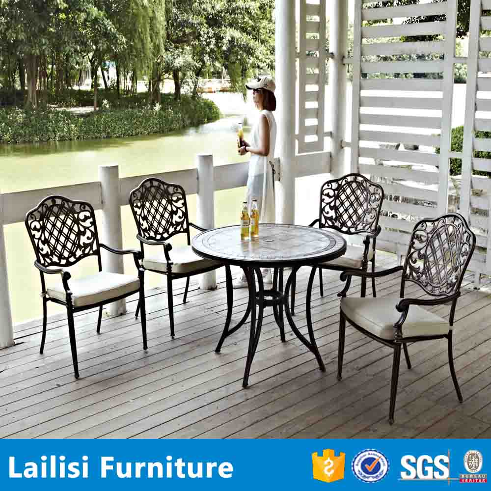 2015 New outdoor Garden chair and table set weather-resistant patio furniture