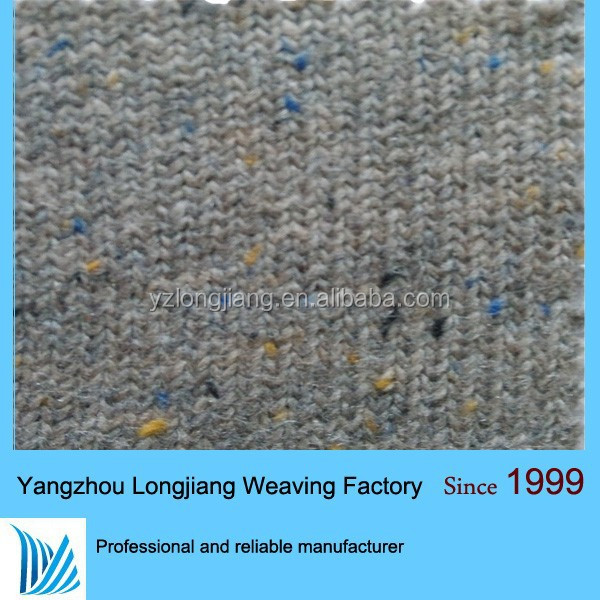 2014 year hot sell 2x2 organtic boiled merino wool knitted rib fabric