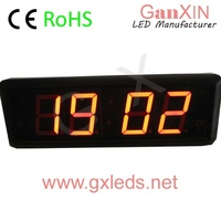 ultronic weather station clock small 2.3 inch led alarm clock 4 digital red led alarm clock
