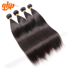 QHP Cheap real human hair extension on sale raw indian temple hair