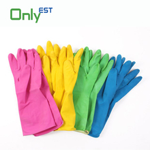 New fashion dirt resistant waterproof cleaning unlined household latex glove