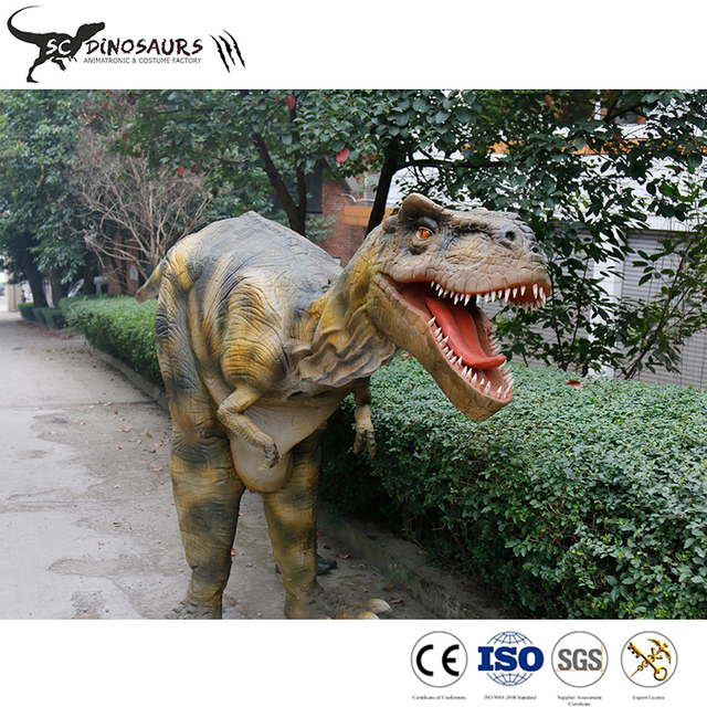 Scdino-520 22kg Artificial hidden legs Dinosaur Costume for adults performance dinosaur suit