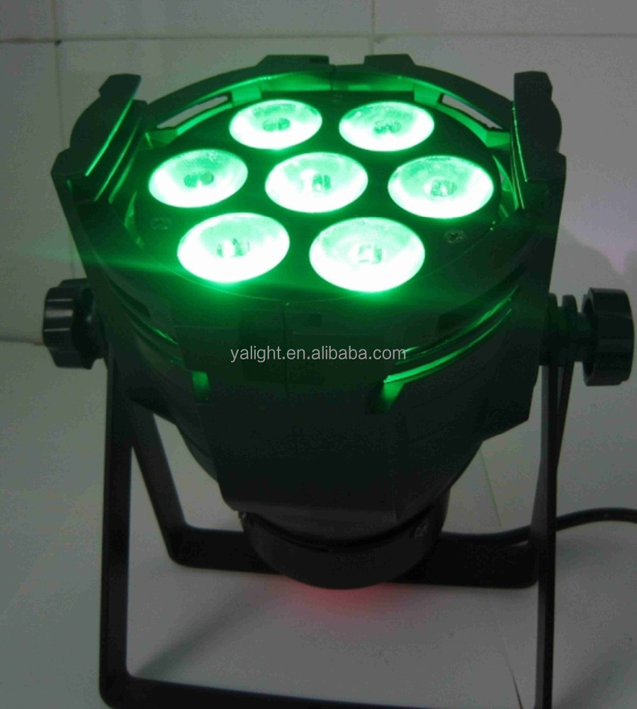 2015 yalight led 7pcs*18W waterproof Outdoor/<strong>china</strong> cheaper supper /for Ballroom for discos for nightclubs Bars