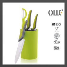 Excellent Houseware Knives Set with Popular Universal Knife Block