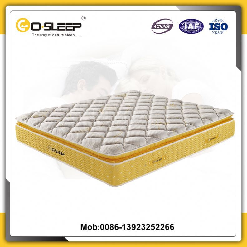 China famous brand angel dream micro mattress pocket spring for wholesale