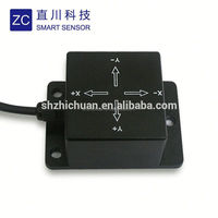 (ZCT205DL-I2)Chinese manufacturer customized dual axis MEMS analog angle sensor