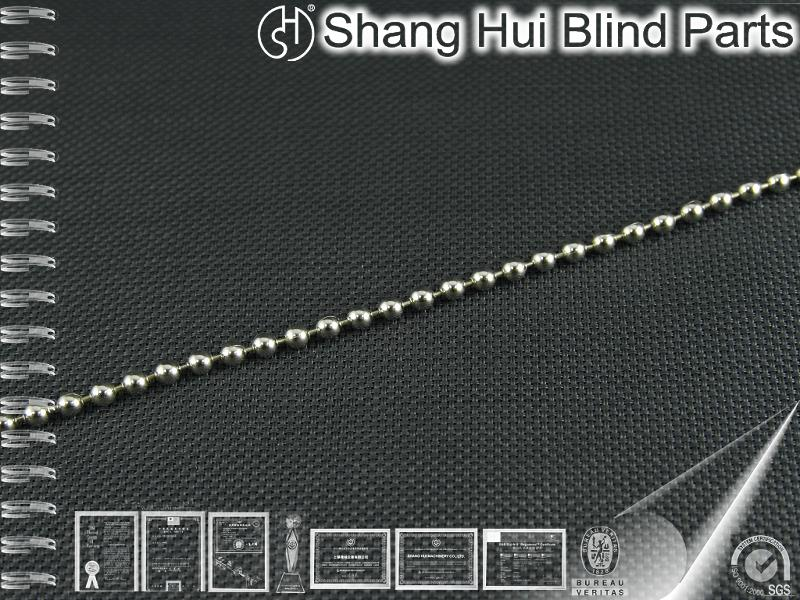 Low price home decoration vertical blind part Steel Ball Chain