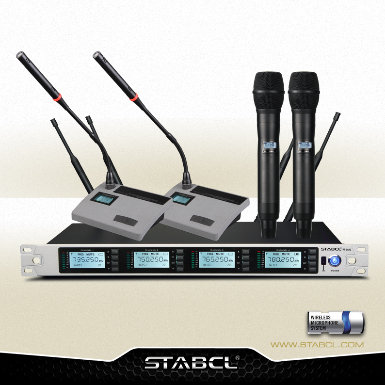 Best Sale Desktop 200 Channel Wireless Microphone Conference Table Microphone Omnidirectional Meeting Microphone