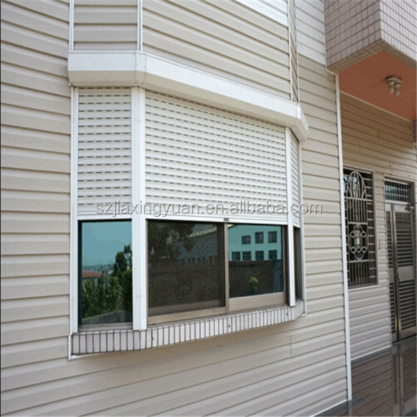 Metal hurricane storm electric roller shutter for window
