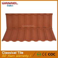 Lightweight Wanael Heat Insulation Classical Plates Roofing Price of Concrete Roof Tiles