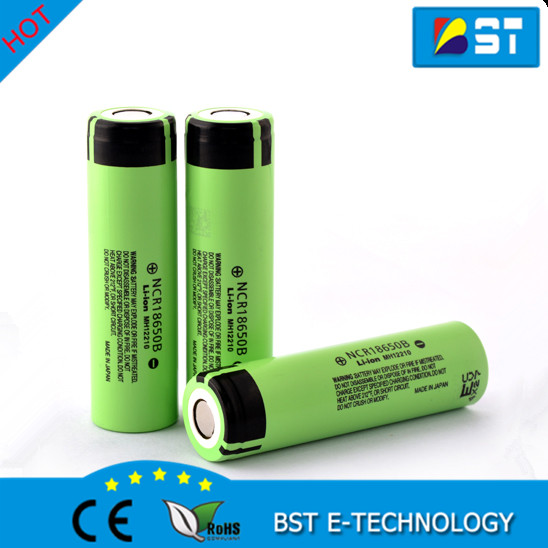 Lastest high capacity NCR18650 3.7v 3400mAh Li-ion rechargeable 18650 batteries NCR18650B for Flashlight