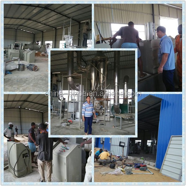Low Price 20t/day Automatic Cassava Flour Processing Machine