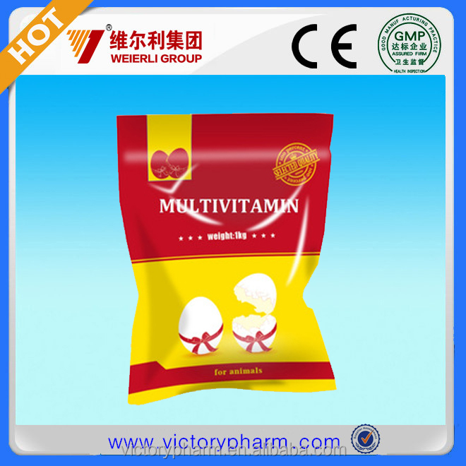 HOT Mutivitamin soluble powder for chicken pigeon promotion growth
